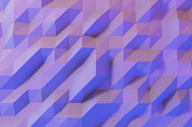 Resumos simples azulejo geométrico fundo de parede design cinza mínimo, ilustração 3d Foto Premium