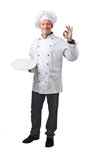 Retrato de chef Foto Premium