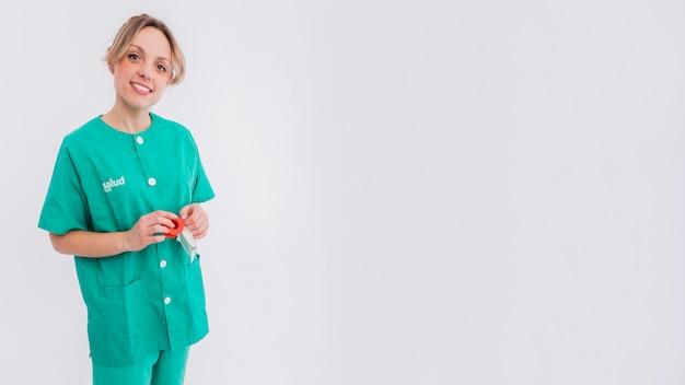 Retrato de enfermeira Foto gratuita