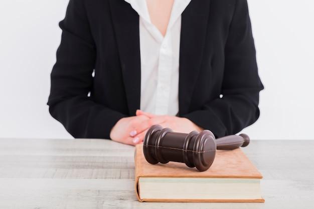 Retrato de juiz Foto gratuita
