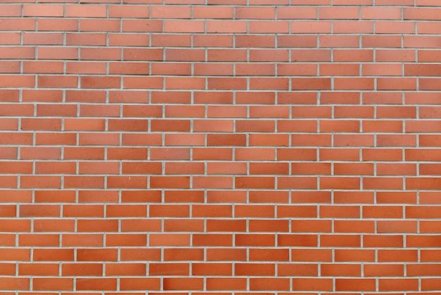 Retrato de parede de tijolo marrom como parede abstrata ao ar livre Foto Premium