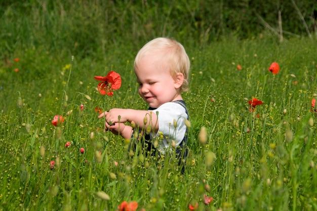 Retrato de um bebê Foto Premium