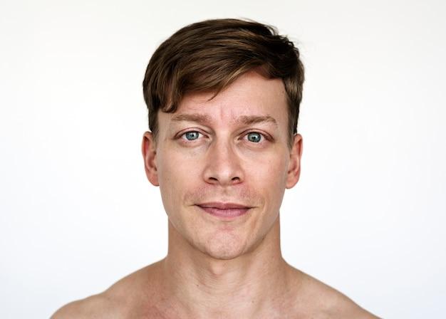 Retrato de um homem austríaco Foto gratuita