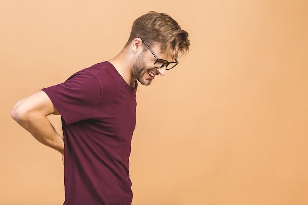 Retrato de um homem bonito de óculos Foto Premium