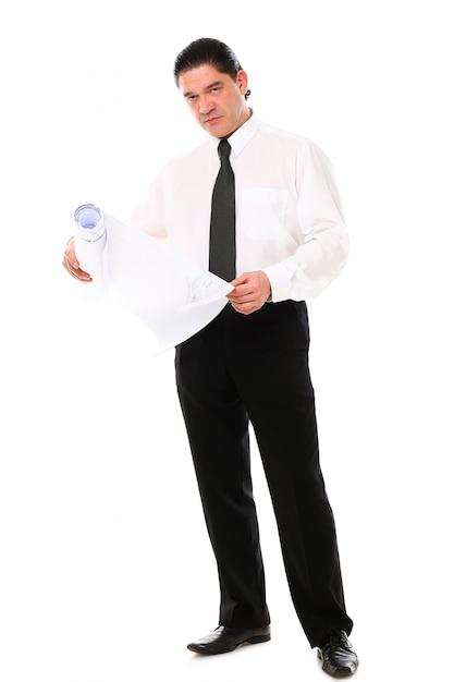 Retrato do empresário envelhecido médio Foto gratuita