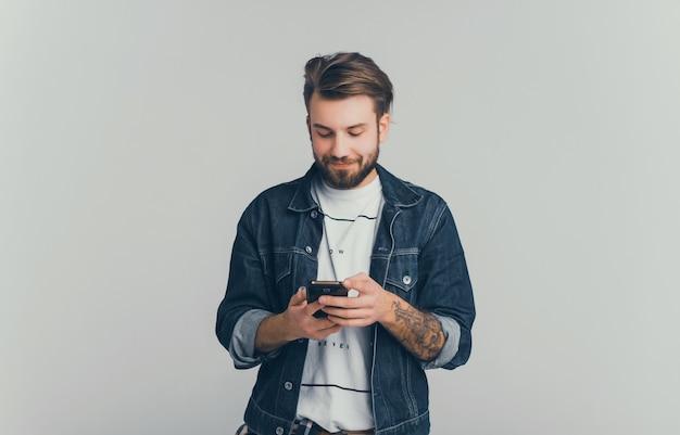 Retrato do homem Foto gratuita
