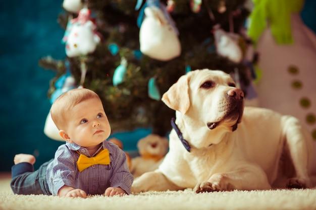 Rindo chão lazer lifestyle criança Foto Premium