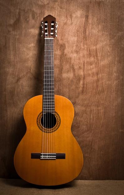 Rolo de estúdio fingerboard banda de madeira Foto gratuita