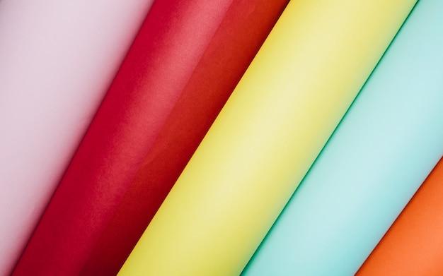 Rolos de papel brilhante Foto gratuita