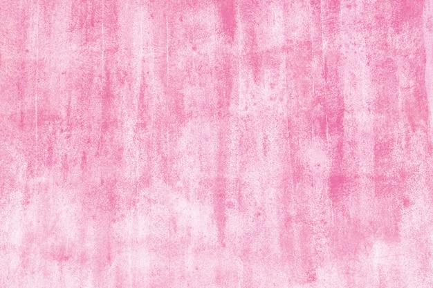 Rosa pintado no fundo da parede. textura de concreto foto pintada. Foto Premium