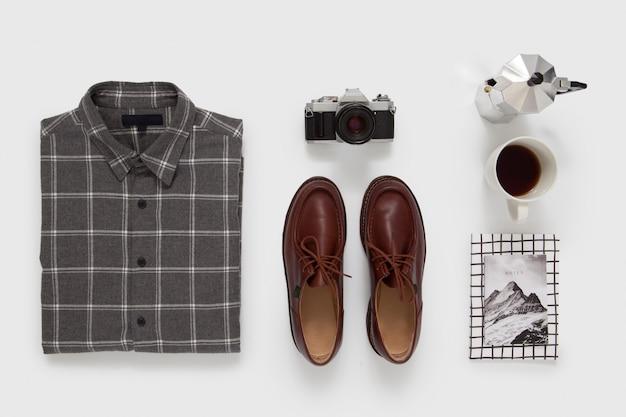 Roupa masculina casual Foto Premium