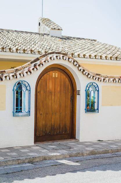 Ruas bonitas e aconchegantes Foto gratuita