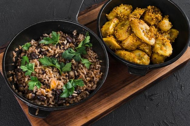 Saborosa comida mexicana Foto gratuita