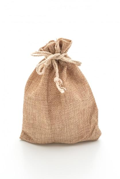 Saco de tecido saco Foto Premium
