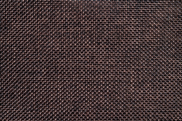 Saco marrom escuro ou fundo de textura de serapilheira e espaço vazio. Foto Premium