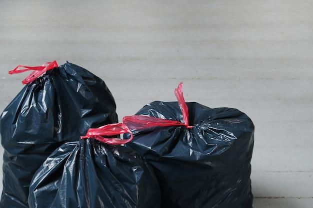 Sacos de lixo Foto gratuita