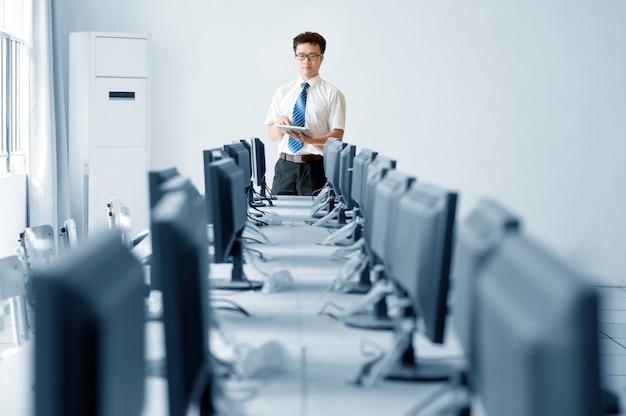 Sala de informática Foto Premium