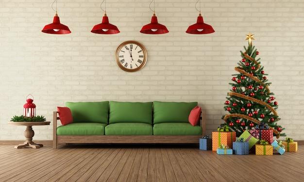 Sala de natal Foto Premium