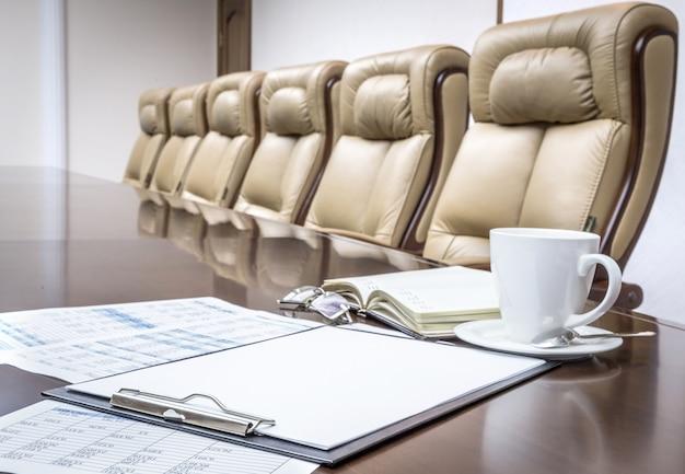 Sala de reuniões moderna Foto Premium