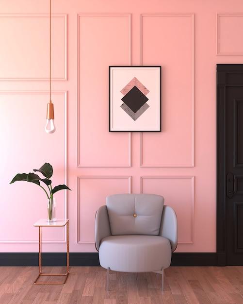 Sala-de-rosa Foto Premium