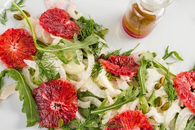 Salada mexicana saudável Foto gratuita