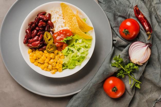 Salada mexicana Foto gratuita