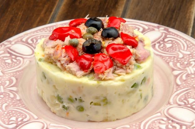 Salada russa Foto Premium