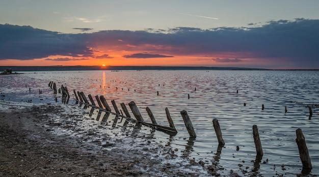 Salt lake kuyalnik Foto Premium