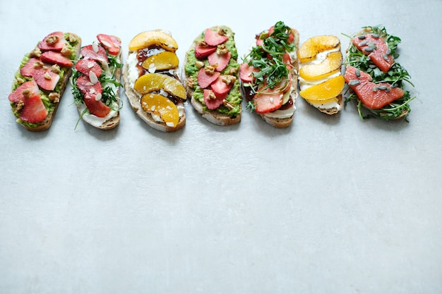 Sanduíche doce Foto gratuita