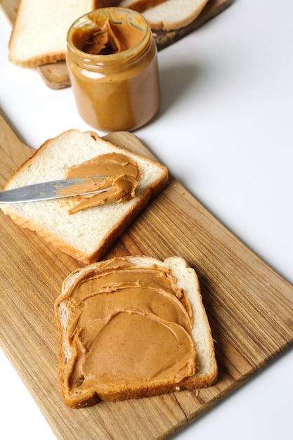 Sanduíches de manteiga de amendoim Foto gratuita