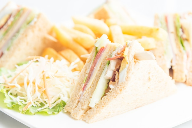 Sanduíches do clube Foto gratuita