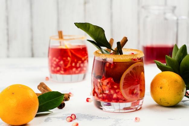 Sangria de outono e inverno Foto Premium
