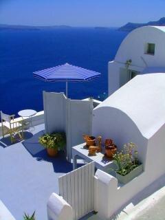 Santorini, imóvel Foto gratuita