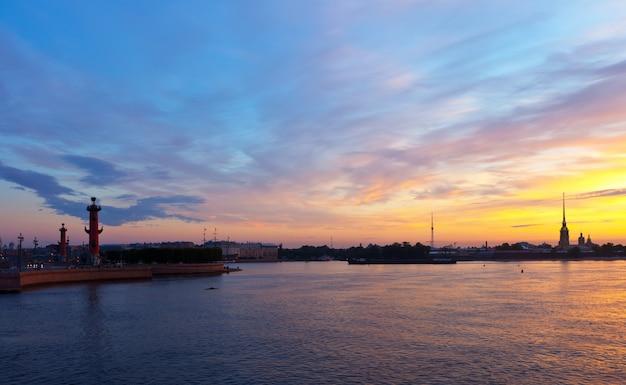 São petersburgo na manhã Foto gratuita