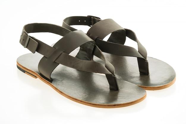a9e4efe597 Sapatos de couro e sandália