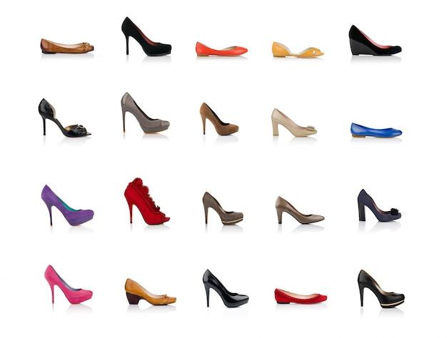 Sapatos femininos elegantes Foto gratuita
