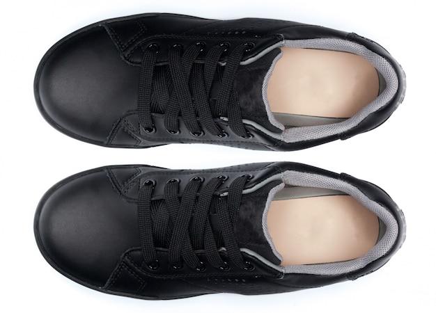 Sapatos isolados no branco Foto Premium