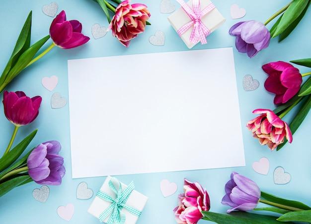 Saudação para woomens ou dia das mães Foto Premium