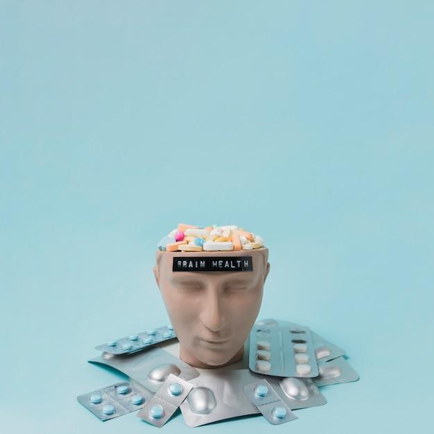 Saúde do cérebro Foto gratuita