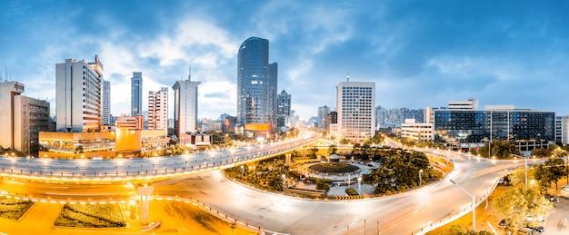 Scape da cidade da porcelana de nanchang. Foto Premium
