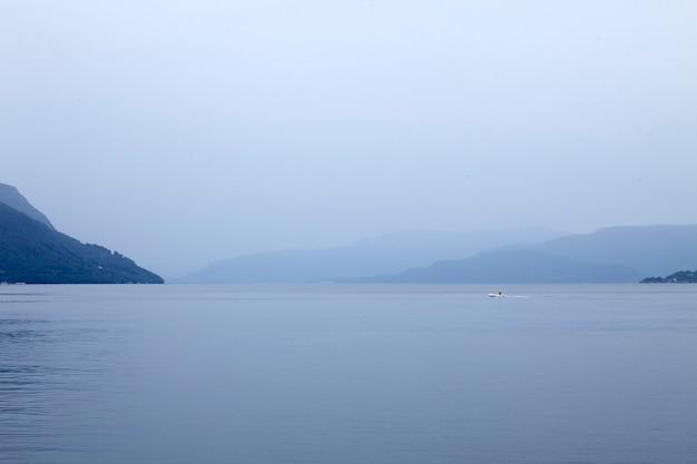 Seascape azul calmo Foto Premium