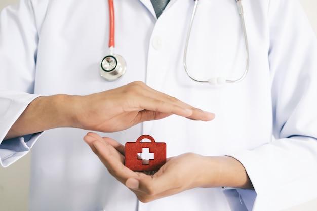 Seguro de vida e saúde Foto Premium