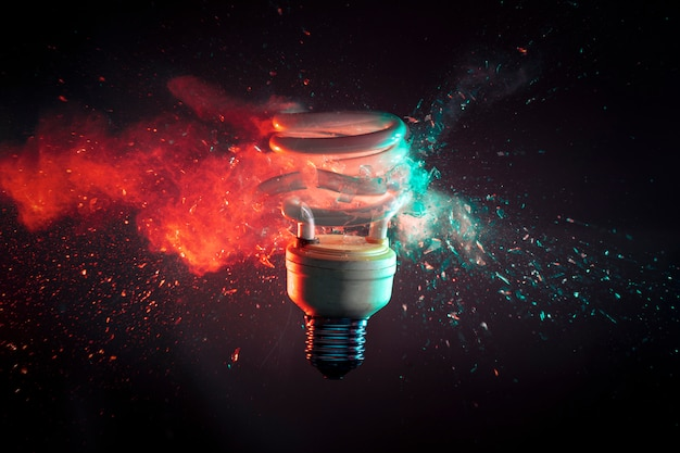 Sem energia Foto Premium