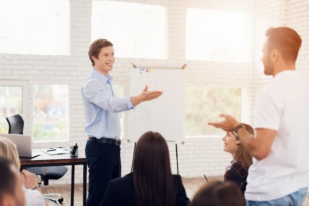 Seminário sobre programação neurolingüística. Foto Premium