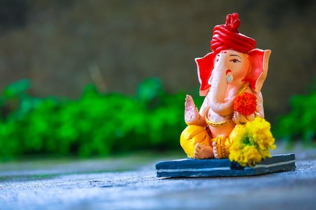 Senhor ganesha, festival indiano de ganesh Foto Premium