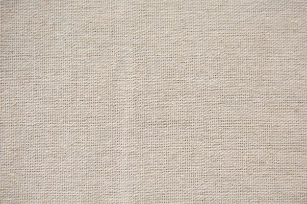 Serapilheira branca, fundo de textura de pano de saco Foto Premium