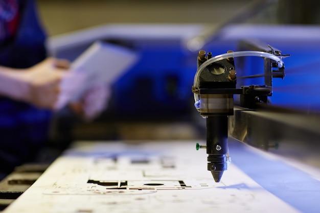 Setor de lasercut Foto gratuita