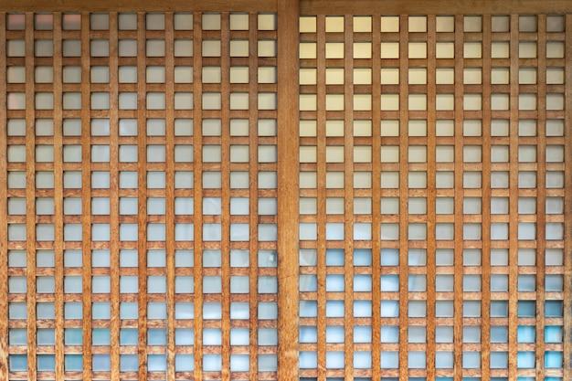 Shoji, porta, janela ou divisor de quarto composto. Foto Premium