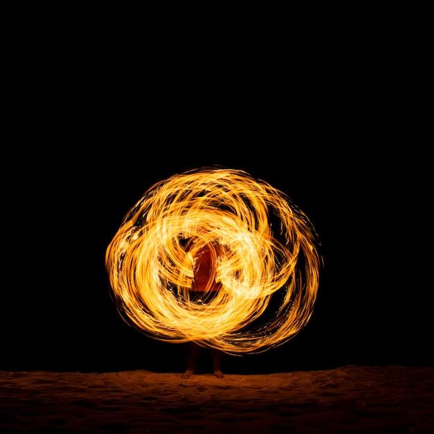 Show de fogo Foto Premium