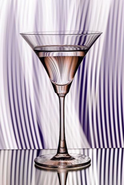 Silhueta de vidro em boate Foto Premium